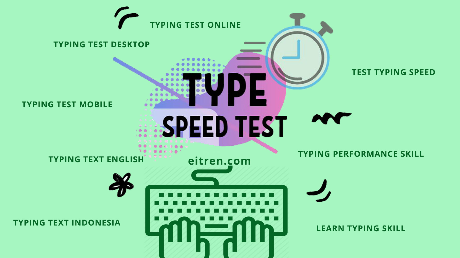 Test Speed Typing Online Englsih Indonesia